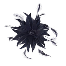 Load image into Gallery viewer, Spiky goose and hackle feather flower for Hats Fascinators and Millinery FM053