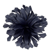 Load image into Gallery viewer, Rounded goose feather flower for Hats Fascinators and Millinery  FM055