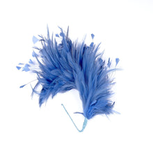 Load image into Gallery viewer, Hackle feather and teardrop coque mount millinery fascinator wedding hats FM080