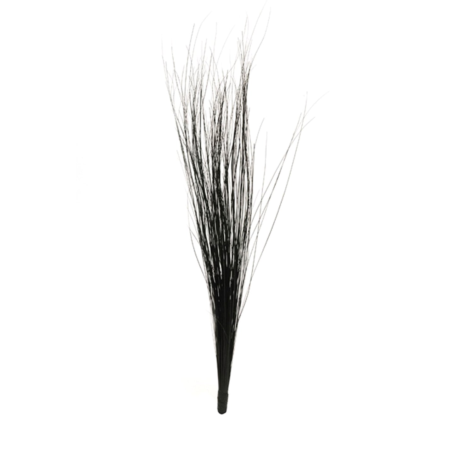 Burnt peacock feather brush mount for millinery fascinator wedding hats FM083