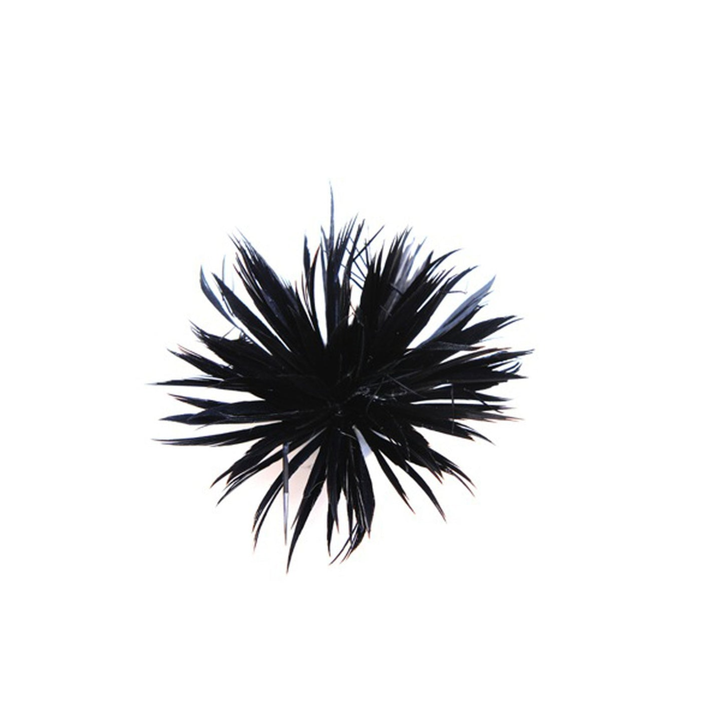 Spiky goose biot feather mount for millinery fascinators wedding hats FM093