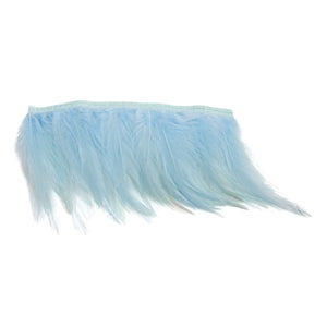1 meter full hackle feather fringe craft millinery fascinators wedding hat FR012