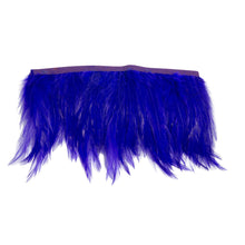 Load image into Gallery viewer, 1 meter full hackle feather fringe craft millinery fascinators wedding hat FR012