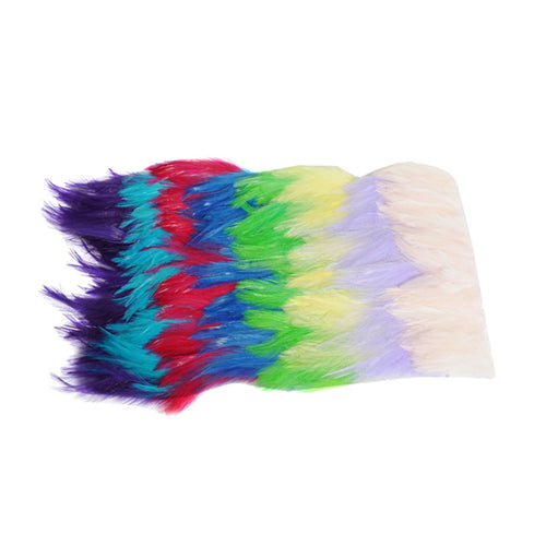 20cm full hackle feather fringe craft millinery fascinators wedding hats FR012