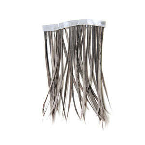 1 meter goose biot feather fringe craft millinery fascinators wedding hats FR013