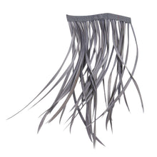Load image into Gallery viewer, 10cm goose biot feather fringe craft millinery fascinators wedding hats FR013