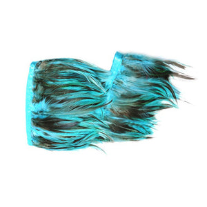 Feather Fringe Grizzly Schlappen 1M for Hats Fascinators and Millinery FR016