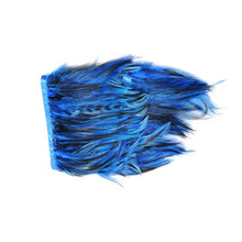 Load image into Gallery viewer, Feather Fringe Grizzly Schlappen 1M for Hats Fascinators and Millinery FR016