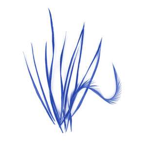 10 Loose Spiky Goose Biot Feathers for Hats Fascinators and Millinery FR913