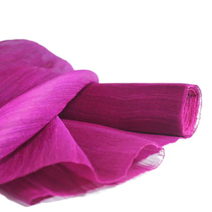Silk abacca sheer sinamay fabric for millinery fascinator wedding hats FS005