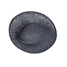 Load image into Gallery viewer, Sinamay Upbrim Hat Base for Hats Fascinators and Millinery HA043