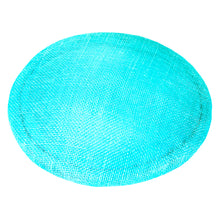 Load image into Gallery viewer, Small Sinamay Smartie, 17cm Diameter for Hats Fascinators and Millinery HA052
