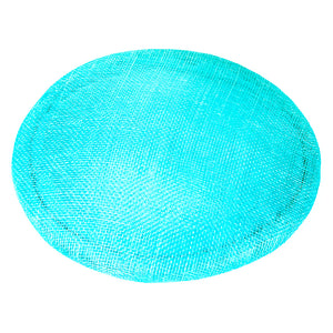 Small Sinamay Smartie, 17cm Diameter for Hats Fascinators and Millinery HA052
