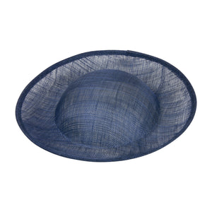 Sinamay material up backed shaped for millinery fascinators wedding hats HA054
