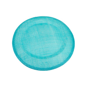 Medium saucer shape sinamay material for millinery fascinator wedding hats HA062