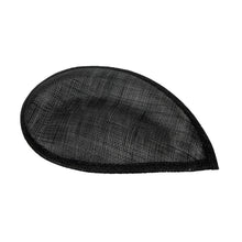 Load image into Gallery viewer, Sinamay material scalloped teardrop for millinery fascinators wedding hats HA069