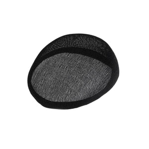 Cotton buckram slopped pointed smartie for millinery fascinators hats HA090N