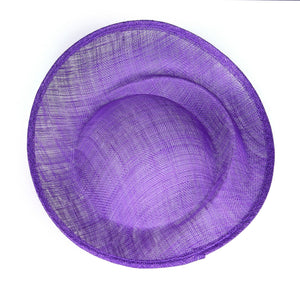 Sinamay material scalloped shape for millinery fascinators wedding hats HA092