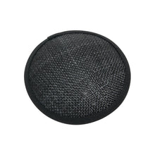 Load image into Gallery viewer, Sisal & Parisisal straw 10cm circle fascinator base for millinery wedding hat HB001