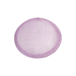 Sinamay material 10cm circle fascinator base for millinery wedding hat HB007
