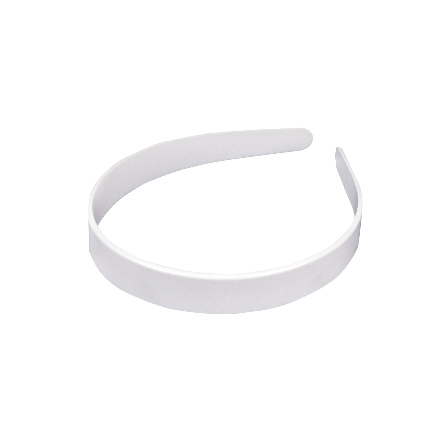 Plastic uncovered headband 18mm wide for fascinators millinery hats HB022