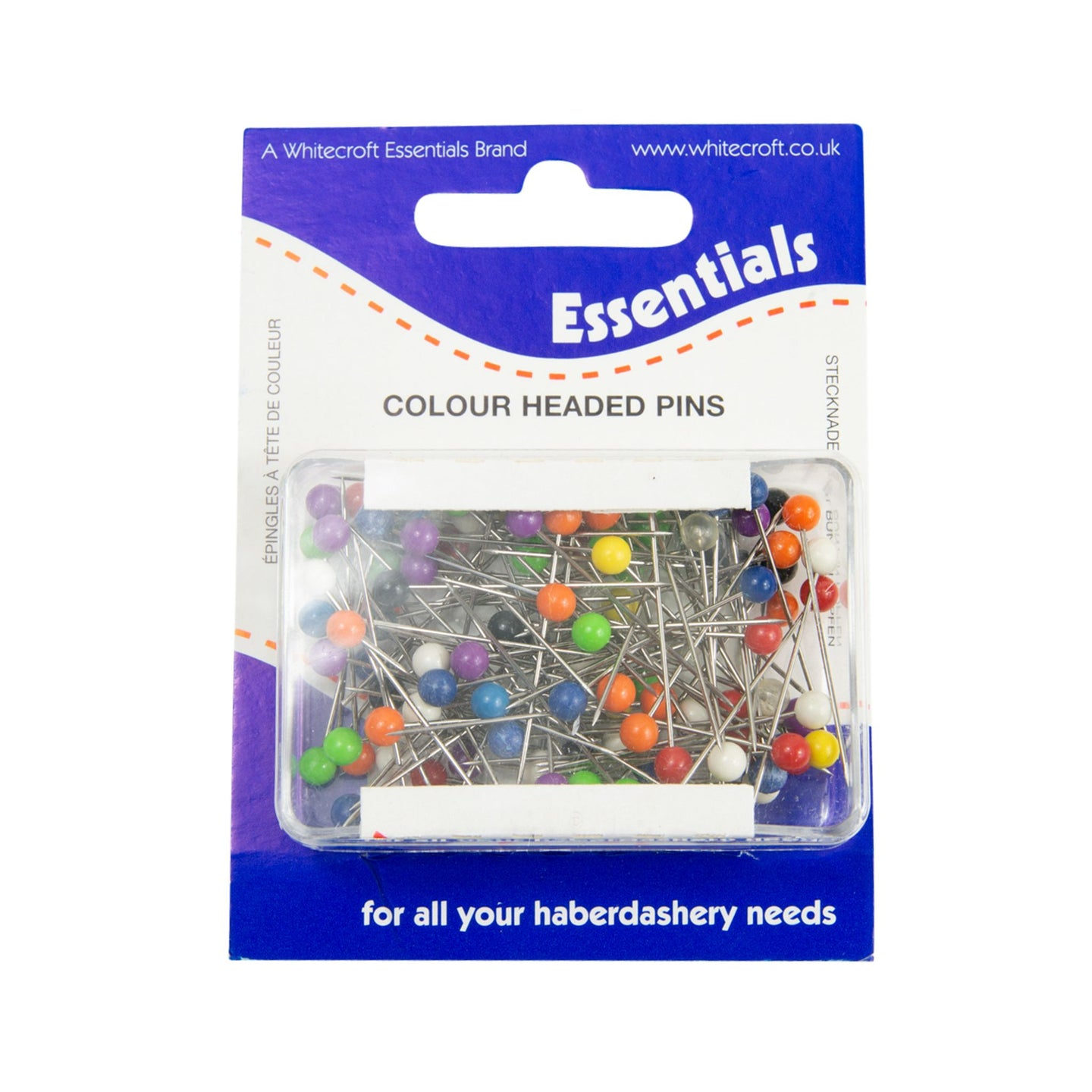 HB070 Coloured headed pins