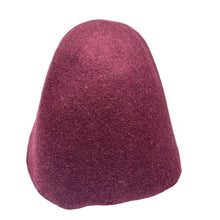 Load image into Gallery viewer, Small Felt Melange Cone for Hats Fascinators and Millinery HF042