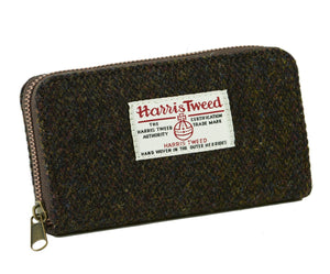 ZB032 Amy Harris Tweed Zip Wallet