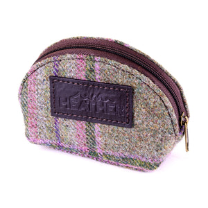 ZB043 Natalie British Tweed Coin Purse