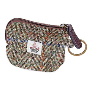 ZB066 Moira Harris Tweed Coin/Card Purse