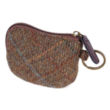 Load image into Gallery viewer, ZB071 Elise British Tweed Coin/Card Purse