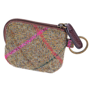 ZB071 Elise British Tweed Coin/Card Purse