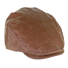 Load image into Gallery viewer, ZH002 Buchanan Wax Flat Cap