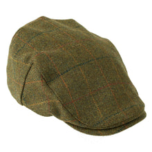 Load image into Gallery viewer, ZH097 Kinloch Waterproof British Tweed Flat Cap