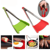 2-in-1 Silicone Cooking Tongs and Spatula