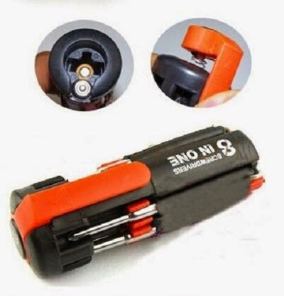 8 IN 1 Portable Screwdriver Torch