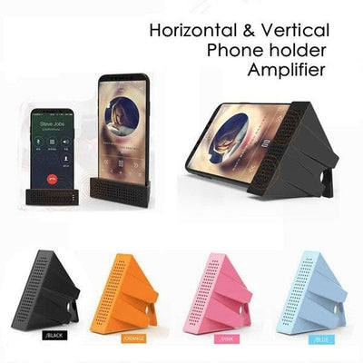 Portable Phone Bracket With Amplifier
