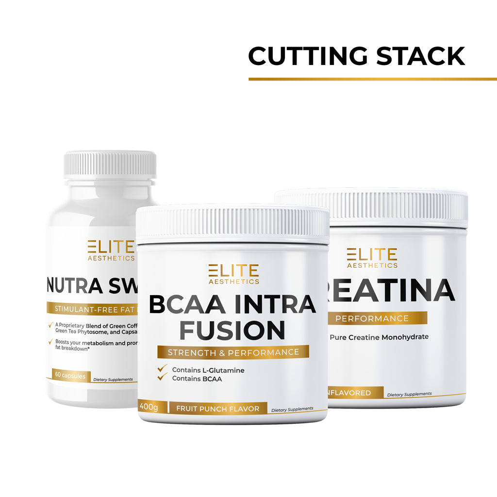 Cutting Stack (Nutra Switch, BCAA INTRA FUSION & Creatina)