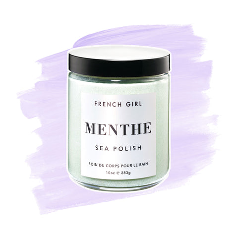 French Girl | Menthe Sea Polish - Smoothing Treatment