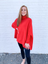 Load image into Gallery viewer, Poncho Sweater