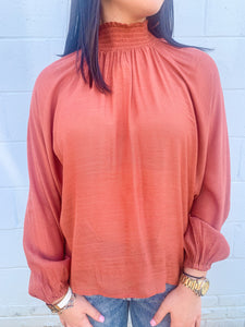 Volume Sleeve Top