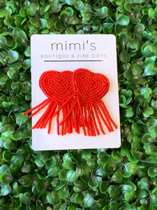 Heart Burst Earrings