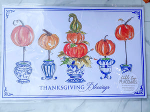 Thanksgiving Blessings Placemat