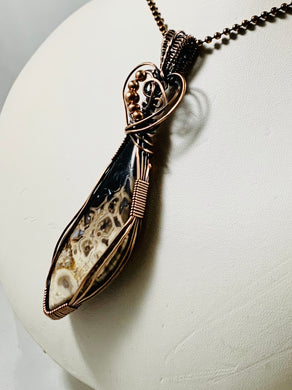 Palm Root Pendant