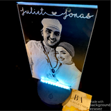 Acrylic Picture with LED base