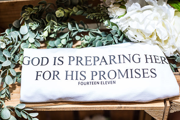 God is Preparing Her