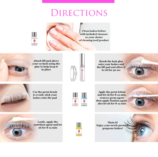 Lash Lifting Kit (Upgraded Version)