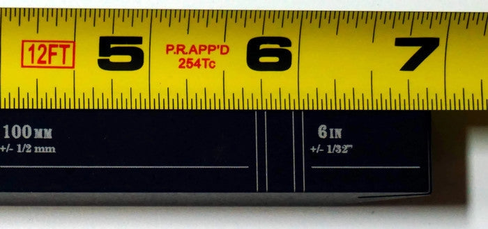 Pass Fail tape measure calibration tool