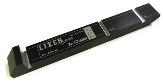 Lixer A-Class -  Anodized Aluminum  (AC101-5) NIST Traceable +/-.0005