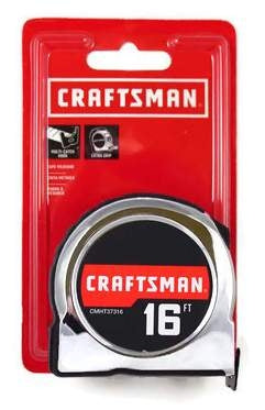 Craftsman CMHT37316 Tape Measure